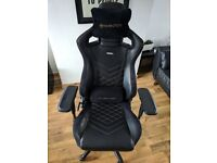 NobleChairs UK Epic Series - Gold & Black