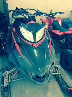 2007 Arctic cat M8 to trade for dirtbike