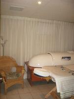 Lit d'infrathérapie avec massage intégré et sauna à infrarouge 2