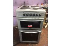 Silver belling 50cm electric cooker grill & oven good condition with guarantee bargain