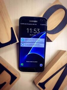 A+ condition Samsung Galaxy S7 Black 32G SM-G930F UNLOCKED Calamvale Brisbane South West Preview