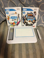 Wii uDraw Pad with 2 Games