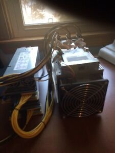 Bitcoin Antminer S7 With power supply 4,75 Thz