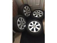 Original Audi Alloys wheels 5x112 will fit BMW, VW... O.N.O