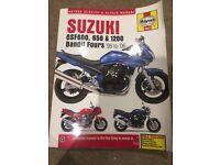 Bandit 600 Suzuki gsf600s Haynes manual