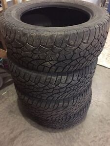 4 Used 275/55 R20 Cooper Zeon tires