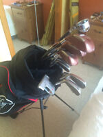 Mens complete golfset with bag