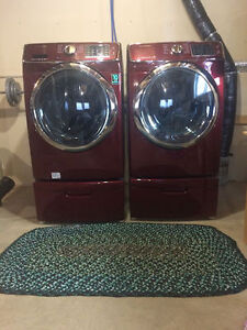Samsung large Capacity washer and dryer