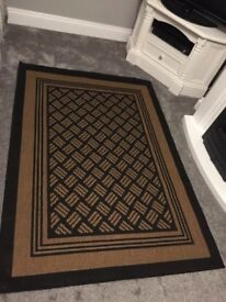 Lovely Black and Tan mat