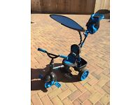 Little Tikes 4-in-1 Trike Deluxe Edition - Blue - Very Good Condition