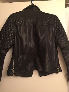 All Saints women's  leather jacket Downtown-West End Greater Vancouver Area image 3