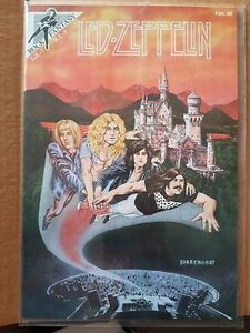 Led Zeppelin Rock Fantasy Comic