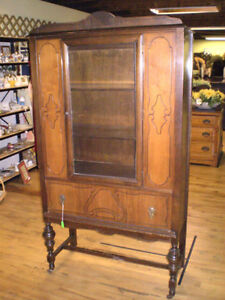 Early One Piece China Cabinet 50% OFF