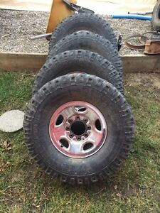 33's and wheels
