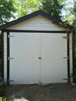 Clean, Secure, Detached Garage in Westdale Available