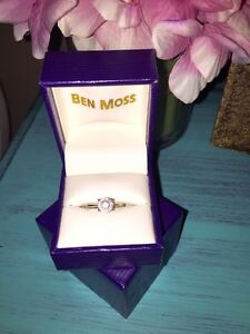 Canadian Diamond Engagement Ring for sale