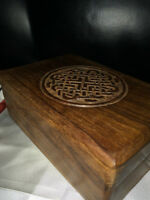 NEW! Wooden Celtic Tarot Card Box + Cards and Silk