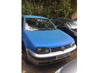 VW GOLF 1.9 TDI 2002 BARGAIN!