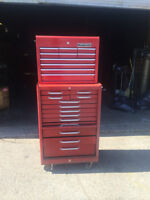22 Drawer Tool Box Chest Cabinet Toolbox Storage Roller