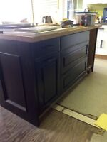 Showroom cabinet clearout