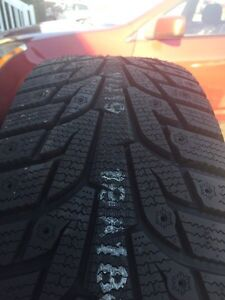 Brand New Hankook Winter Tires On Rims 205/55R16 Kitchener / Waterloo Kitchener Area image 3