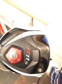 Taylormade R11s with new accra concept shaft