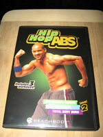 HIP HOP ABS DVDS BY SHAUN T. (SET OF 4)