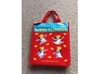 10 x little princess books in bag - like new £7