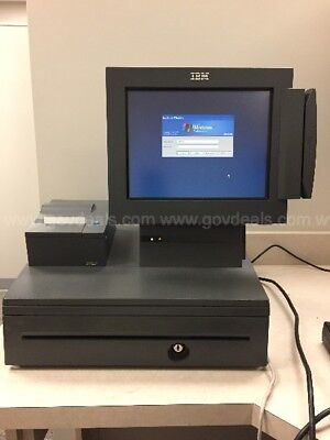 Ibm Surepos 500 Model 4840 Point Of Sale Register