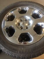 275/55R20 Arctic Claw Winter XSI With F150 Rims