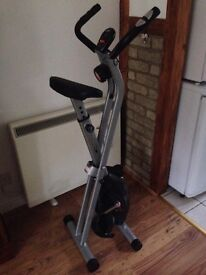 Foldable exercise bike - barely used £80 RRP