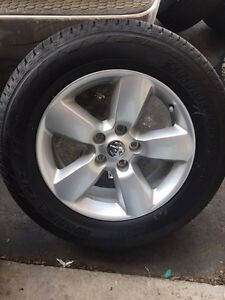 """20"""" Dodge Ram Alloy rims and tires brand new"""