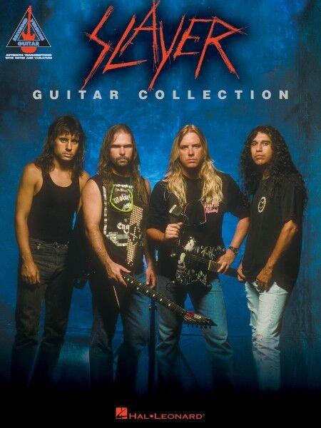 Slayer Guitar Collection Sheet Music Guitar Tablature Book NEW 000690813