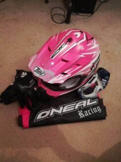 THH TX12 Small Adult Pink Helmet + EXTRAS