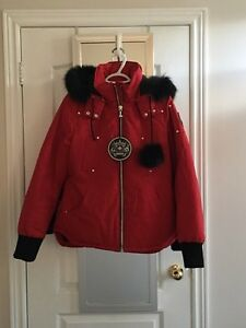 NWOT Ladies Moose Knuckles Jacket Size L