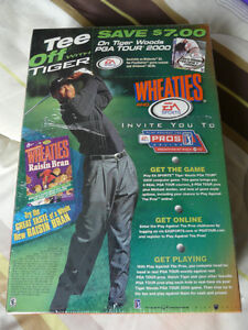 Wheaties collectible Tiger Woods cereal boxes West Island Greater Montréal image 6