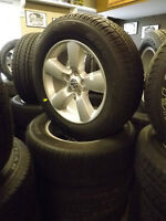"""20"""" Dodge Ram Rims with Tires - Like New"""