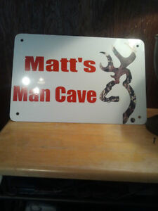 Man Cave Parking signs treaspaing sports Kitchener / Waterloo Kitchener Area image 6