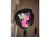 Bin Bag Of Ladies Clothes