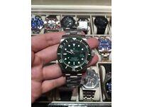 Rolex submariner green hulk new model ceramic bezel
