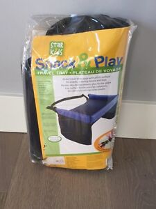 Snack and play. Travel tray for carseat