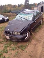 1997 bmw 3 series for parts non repairable