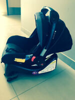 Lamaze Car Seat, Sticks and Stone, Black