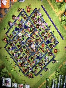 clash of clan dhv11
