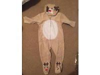 Baby Christmas Onesie 6-9 months (Mothercare)