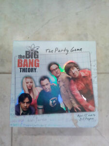 BIG BANG TV SHOW BOARD GAME -THE PARTY GAME