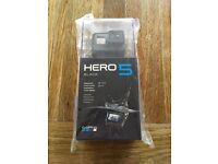 GoPro Hero 5 Black Action Camera (new sealed)