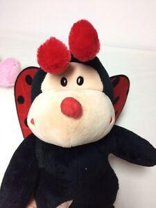 Build a bear pink terrier, teddy bear, ladybug stuffed animals London Ontario image 3