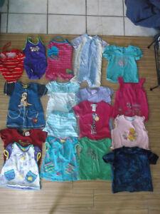 LOT OF GIRL CLOTHING 12-18 MTHS Gatineau Ottawa / Gatineau Area image 3