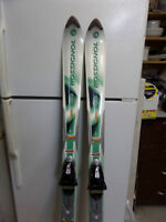 Rossignol Saphir 'S' skis / Tyrolia TD8 bindings--REDUCED